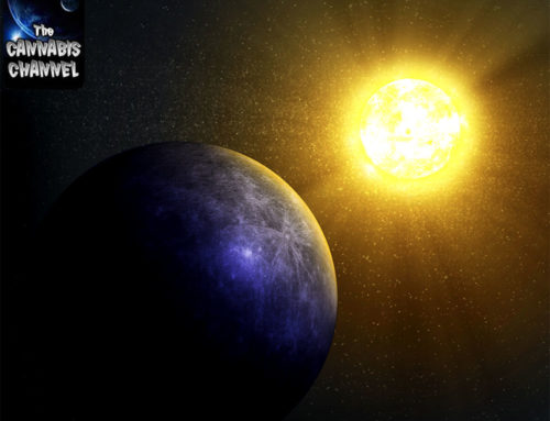 The Blue Side Of Planet Mercury
