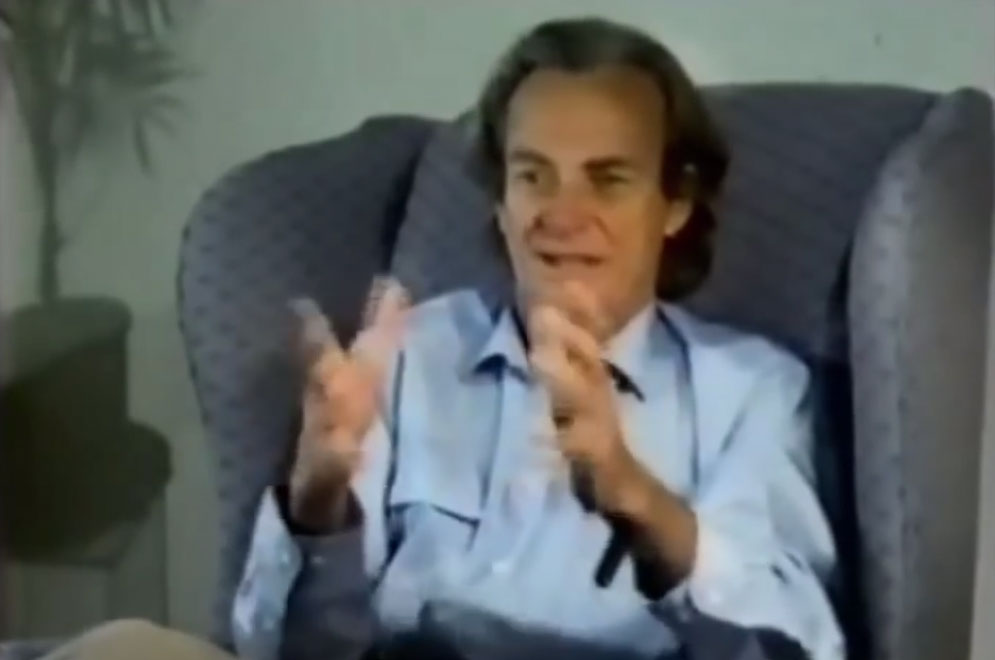 Richard Feynman: Physics is fun to imagine