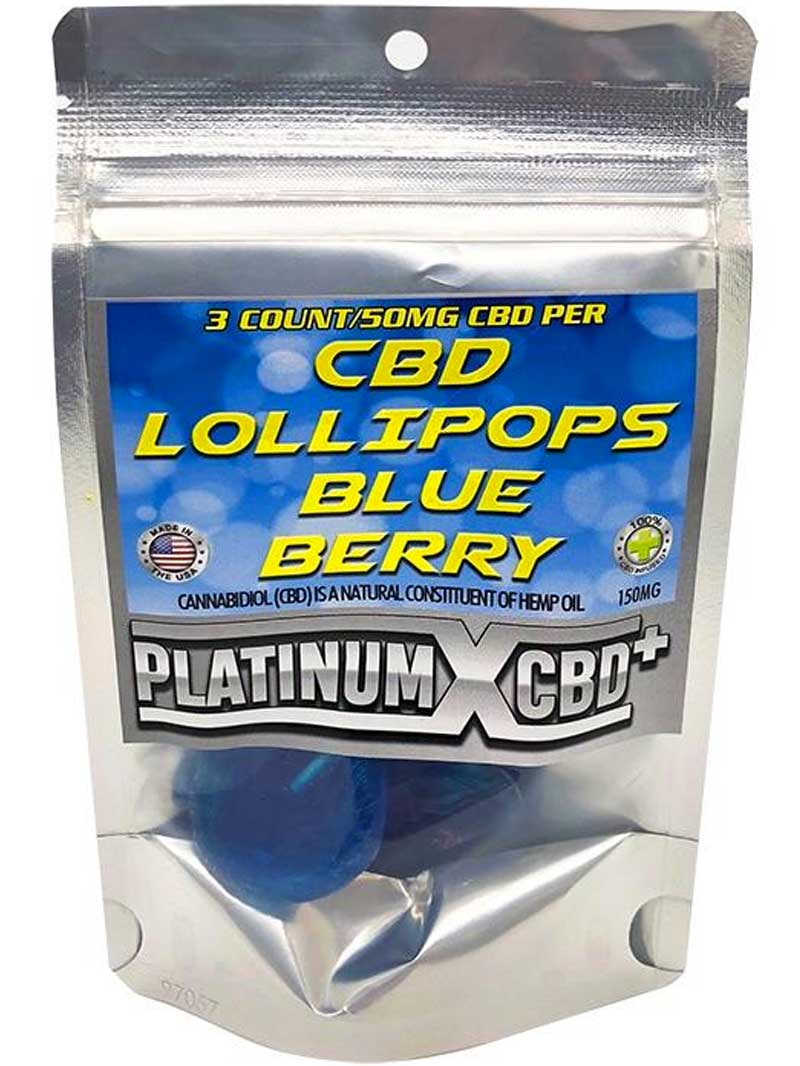 Blue Berry | CBD Lollipops