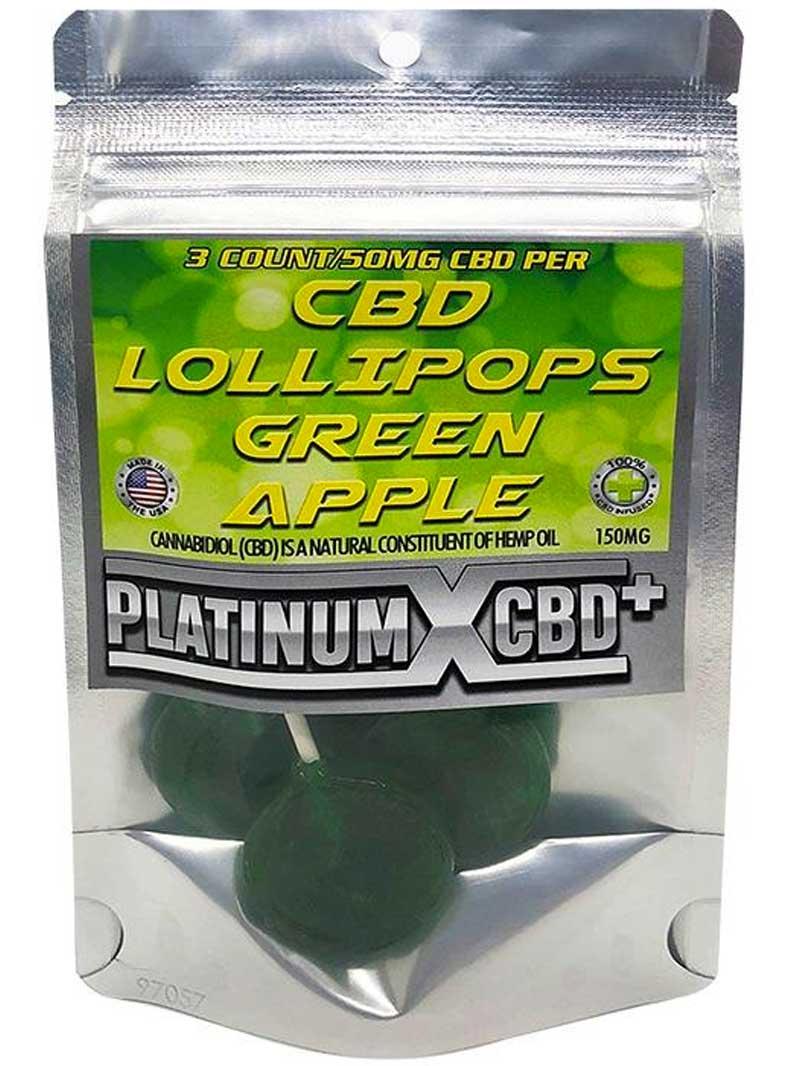 Green Apple | CBD Lollipops