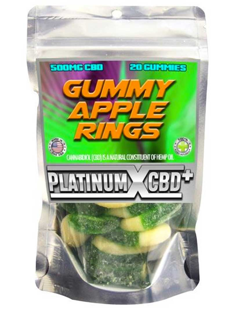 Gummy Apple Rings | CBD Gummies
