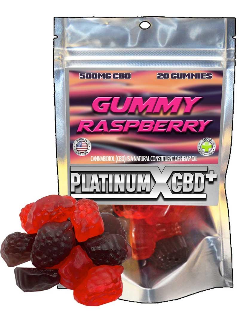 Gummy Raspberry | CBD Gummies
