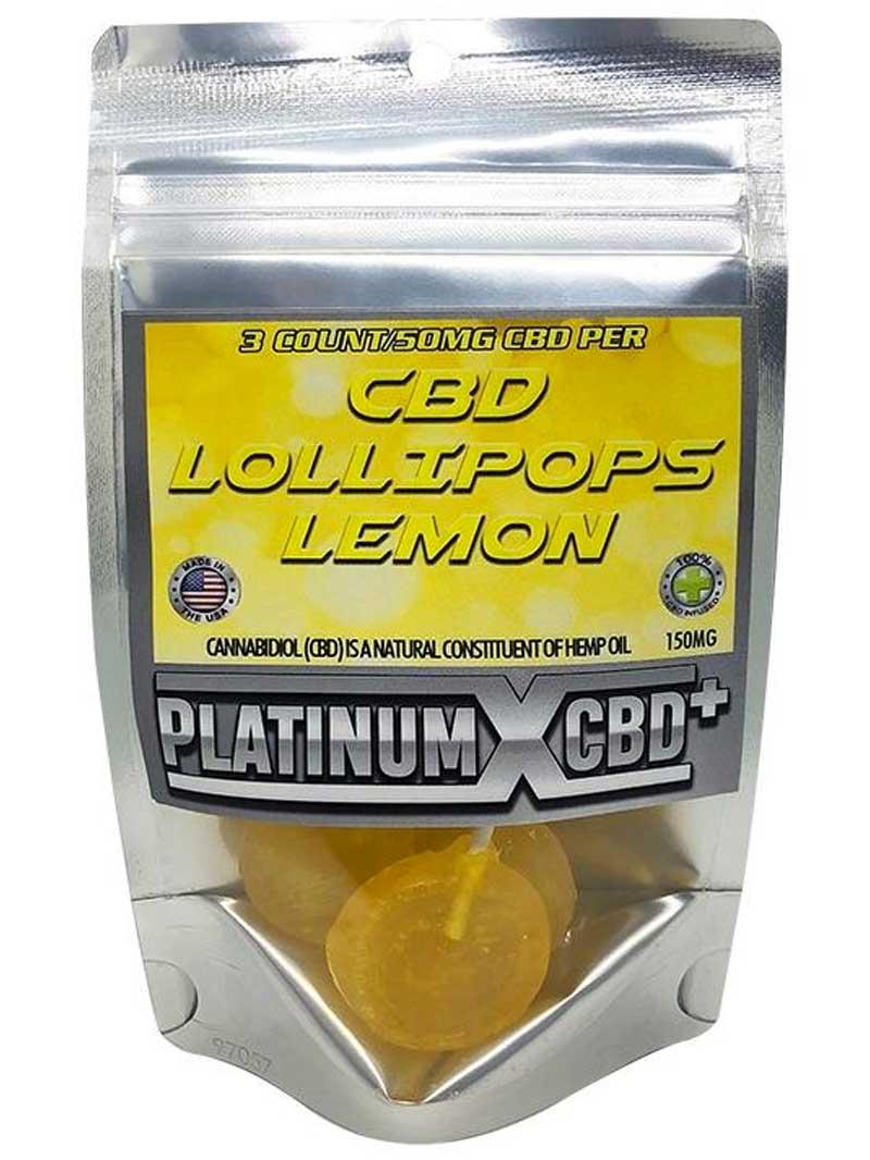 Lemon | CBD Lollipops