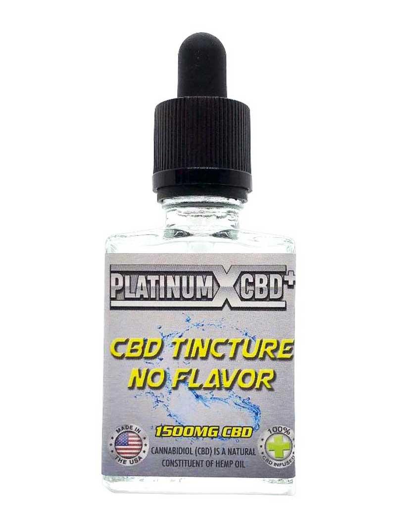 No Flavor | CBD Tincture