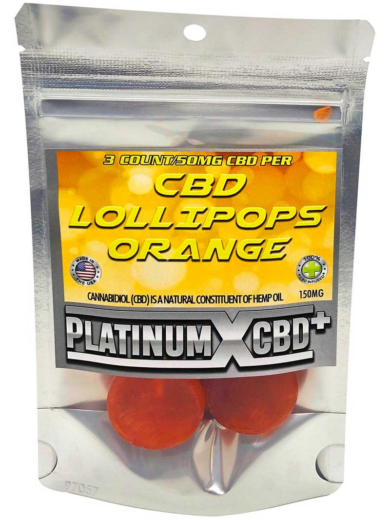 Orange | CBD Lollipops