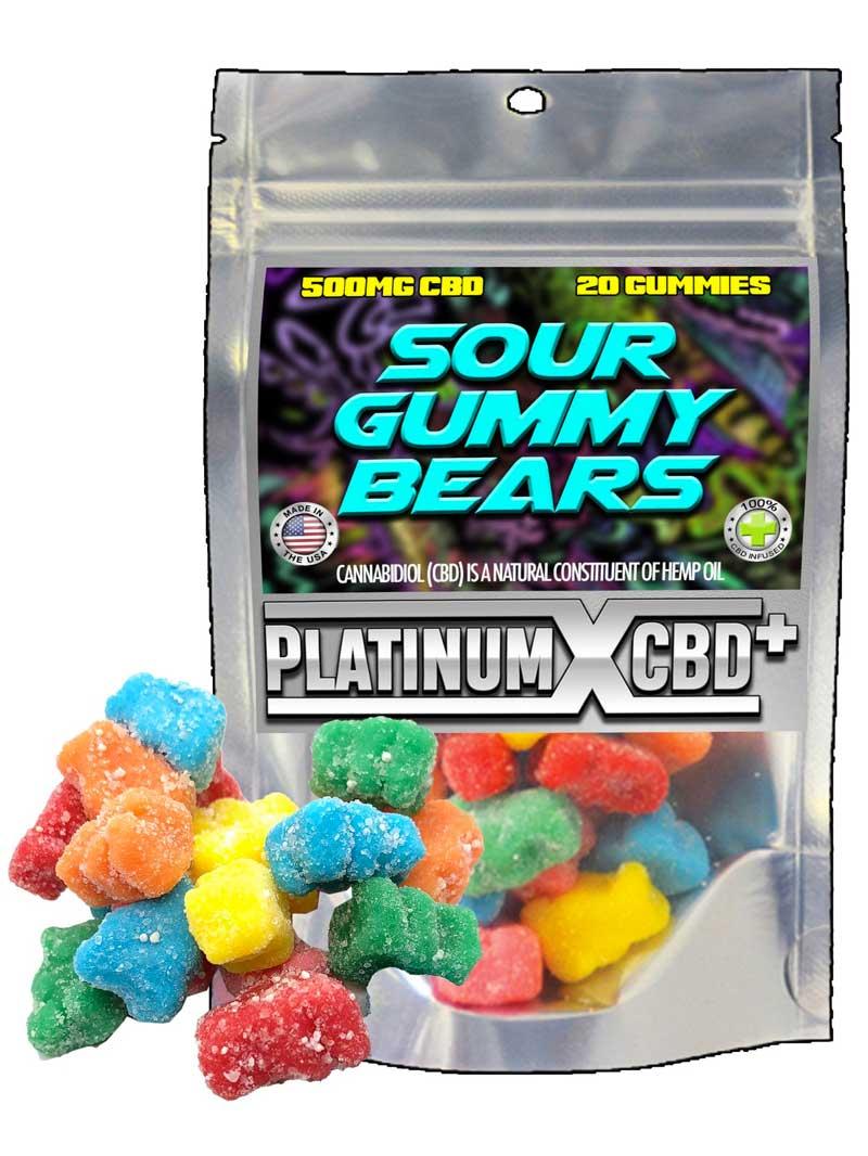 Sour Gummy Bears | CBD Gummies
