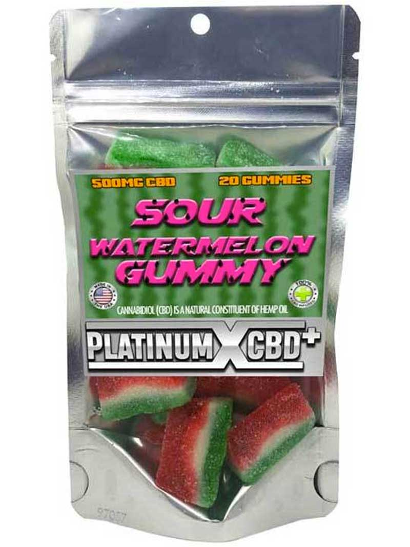 Sour Watermelon Gummy | CBD Gummies