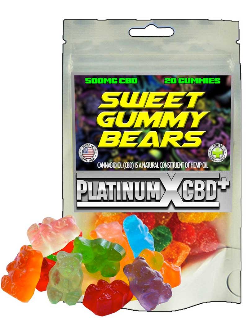 Sweet Gummy Bears | CBD Gummies